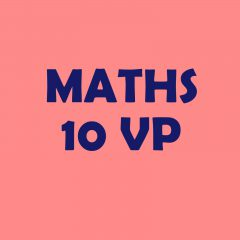Calendrier 10VP – maths