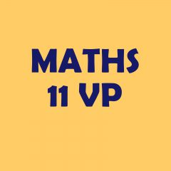 Calendrier 11VP – maths